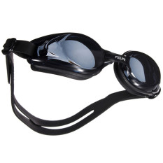 Kacamata Renang Minus 2.5 Anti Fog UV Protection - Black