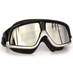 Kacamata Renang Polarizing Anti Fog UV Protection GOG-300 s5125 - Silver Hitam