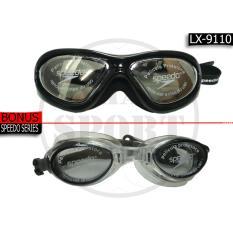 Kacamata Renang Speedo Lx 9110 Hitam Miror Original