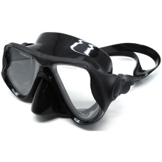 Spek Kacamata Selam Scuba Diving Snorkeling Black