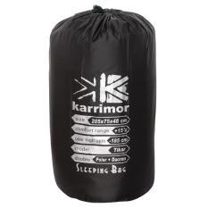 Karrimor Sleeping Bag Double Polar Plus Dacron - Hitam