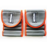 Jual Kettler Adjust Ankle Wrist Weight 0924 000 2 5 Kg Pair Grey Orange Branded Original