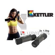 Harga Kettler Aerobic Soft Dumbbell 3Kg Pair 2X 1 5Kg Fitness Senam Aerobic Dumbell 0932 Termurah
