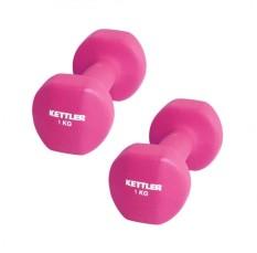 Toko Kettler Neoprene Dumbell 2Kg Pair Pink 0801 000 Lengkap