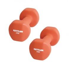 Jual Kettler Neoprene Dumbell 4Kg Pair 0802 000 Orange Termurah
