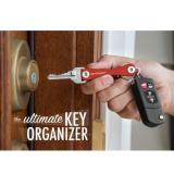 Jual Keysmart Keychain Swiss Army Key Holder Organizer Edc Gantungan Kunci Antik
