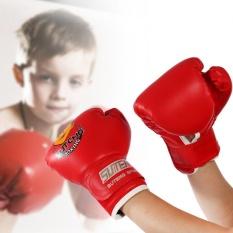 Harga Anak Anak Tinju Fighting Muay Thai Perdebatan Meninju Kickboxing Bergulat Sandbag Sarung Tangan Merah Intl Oem Original
