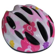 Anak-anak Cute Percetakan Helm Bersepeda Pelindung Saat Berseluncur Peralatan untuk Anak-anak Ukuran: S-Intl