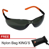 Jual King S Ky 2222 Kacamata Safety Smoke Gratis Nylon Bags Import