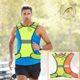 Kisnow Safety Outdoor Sports Night Running Cycling Reflective Vest Gear Color As Main Pic Intl Kisnow Murah Di Tiongkok