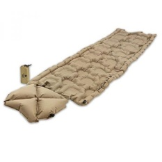 Klymit Inertia O Zone Ultralight Sleeping Pad with Pillow, RECON Coyote-Sand - intl