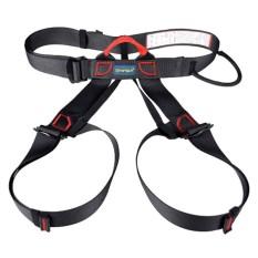 Katalog Kobwa Setengah Tubuh Climbing Harness Adjustable Safety Gear Peralatan Untuk Mountaineering Fire Rescue Lebih Tinggi Tingkat Caving Panjat Tebing Rappelling Hitam Intl Terbaru