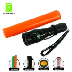 Kokasport Senter Power Style 1862x Cree LED 1500 Lumens Rechargeable Light Energy Saving WaterProof - Hitam