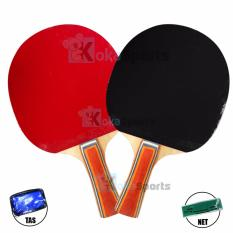 Spesifikasi Kokasports Racket Bet Pingpong Tenis Meja 1 Set Baru
