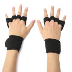 Jual L Fitness Sarung Tangan Angkat Berat Gym Latihan Olahraga Latihan Pelatihan Pembungkus Pergelangan Tangan Intl Not Specified