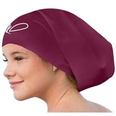 Lahtak Extra Large Swimming Cap-Stylish, Waterproof Silicone Swim Hat untuk Rambut Panjang Wanita & Pria Yang Dirancang untuk Tebal, Curly atau Gimbal Rambut Setelan Rekreasi Perenang (W Wine Dirampingkan)-Intl