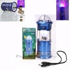 Spesifikasi Lampu Lentera Disco Camping 4In1 Lentera Lampu Disco Senter Power Bank Baru