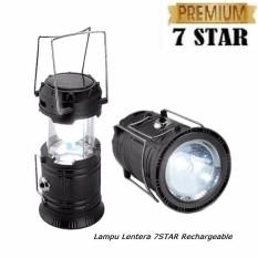 Lampu Lentera Mini Dengan Senter Emergency LED Solar Rechargeable Bisa Untuk Powerbank