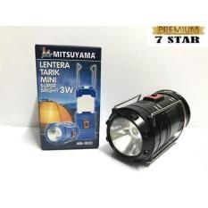 Lampu Lentera Tarik Dan Senter Mini 7star Mitsuyama Ms1032 By 7star Id.