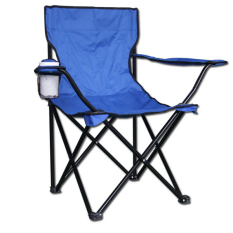 Portabel Kursi Lipat Kursi Berkemah Besar Memancing Pantai Kursi Biru