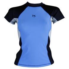Lasona Baju Atasan Renang Anak BRP-Q2741-L4 - Royal Blue- Hitam