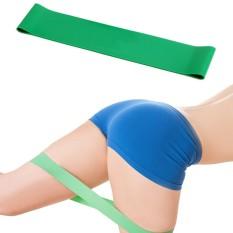 Lateks Perlawanan Pita Yoga Elastis Kebugaran Otot Pelatihan Pilates Band Latihan Karet CrossFit Tali Peregangan Wanita