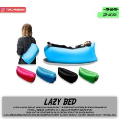 Jual Lazy Bag Kasur Angin Santai Lazy Air Bed Camping Lamzac Antik