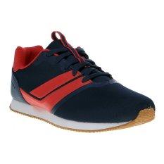 Toko League Aaron Sepatu Sneakers Midnight Navy Chinese Red White Terlengkap Di Jawa Barat
