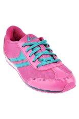 League Astine Sepatu Sneakers Pink Hijau Terbaru