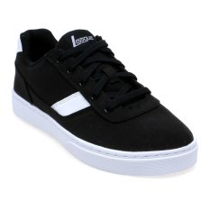 Promo League Austin Lifestyle Shoes Hitam Putih Akhir Tahun
