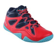 League Ballistic Sepatu Basket Pria - Dress Blue/High Risk Red/Scu