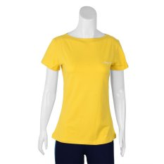 Spesifikasi League Basic Fall Womens Tee Kuning Merk League