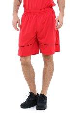 Diskon League Basic Shorts Chinese Red Hitam Putih League