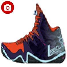 League Beast Sepatu Basket - Flame Scarlet-Blue Depth