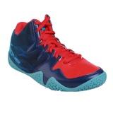 Kualitas League Beast Sepatu Basket Pria Flame Scarlet Blue Depth Bac League