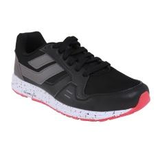 League Cruz Nocturnal Sneakers Olahraga Pria - Black/Dark Gull Grey/Flame Sca
