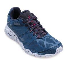 League Ghost Runner Sepatu Lari Pria Majolica - Biru-Nine Iron-Ombre Blue