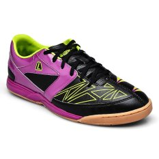 Jual League Gioro 2 Fraction Sepatu Futsal Lime Punch Purple Wine Hitam League Original