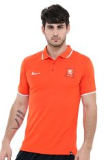 Beli League Holland 14 Classic Polo M Red Orange Putih Online Murah