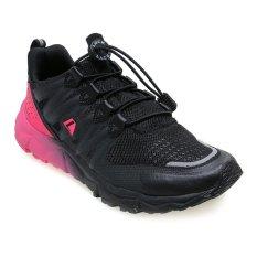 Beli League Kumo 1 5 W Sepatu Lari Wanita Black Flash Pink Kredit