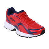 League Legas Series Ark 13 La M Sepatu Lari Pria High Risk Red Blue Depth Whi Original