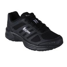 Ulasan Mengenai League Legas Series Atom La Sepatu Lari Black White Black