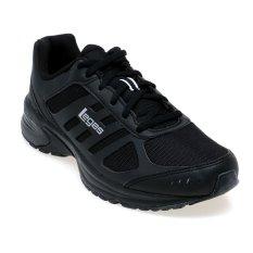 League Legas Series Atom M LA Running Shoes Sepatu Lari Pria - Hitam-Putih