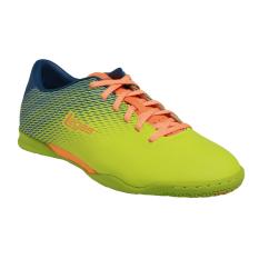 League Legas Series Attacanti LA Sepatu Futsal Pria - Lime Punch/Majolica Blue/Aut
