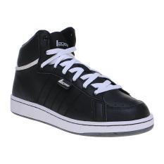 League Legas Series Clate BTS LA Lifestyle Shoes Sepatu Lari Pria - Hitam -Putih 44739d5c75