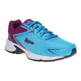 Diskon League Legas Series Corona La W Sepatu Lari Wanita Blue Atoll Purple Wine White Branded