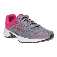 Beli League Legas Series Corona La W Sepatu Lari Wanita Cloudbursh Fuschia Purple White