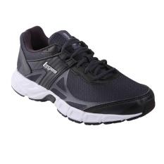 Cara Beli League Legas Series Iron La Sepatu Lari Pria Nine Iron Black White