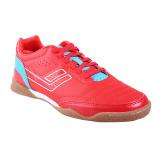 Harga League Legas Series Meister La Sepatu Futsal Pria Fiery Red Scuba Blue White Asli