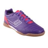 Promo League Legas Series Meister La Sepatu Futsal Pria Royal Purple Barberry White Legas